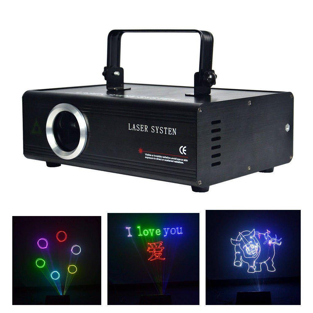 AUCD 40 KPPS bricolage modifier carte de programme SD DMX ILDA kaléidoscope rvb 500mW Laser Disco DJ fête spectacle Animation Scan projecteur lumières