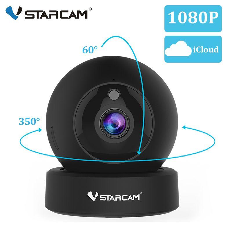 Vstarcam 1080P 2MP dôme Mini caméra IP G43S sans fil Wifi caméra de sécurité PTZ Cam IR nuit caméra de Surveillance à domicile moniteur bébé