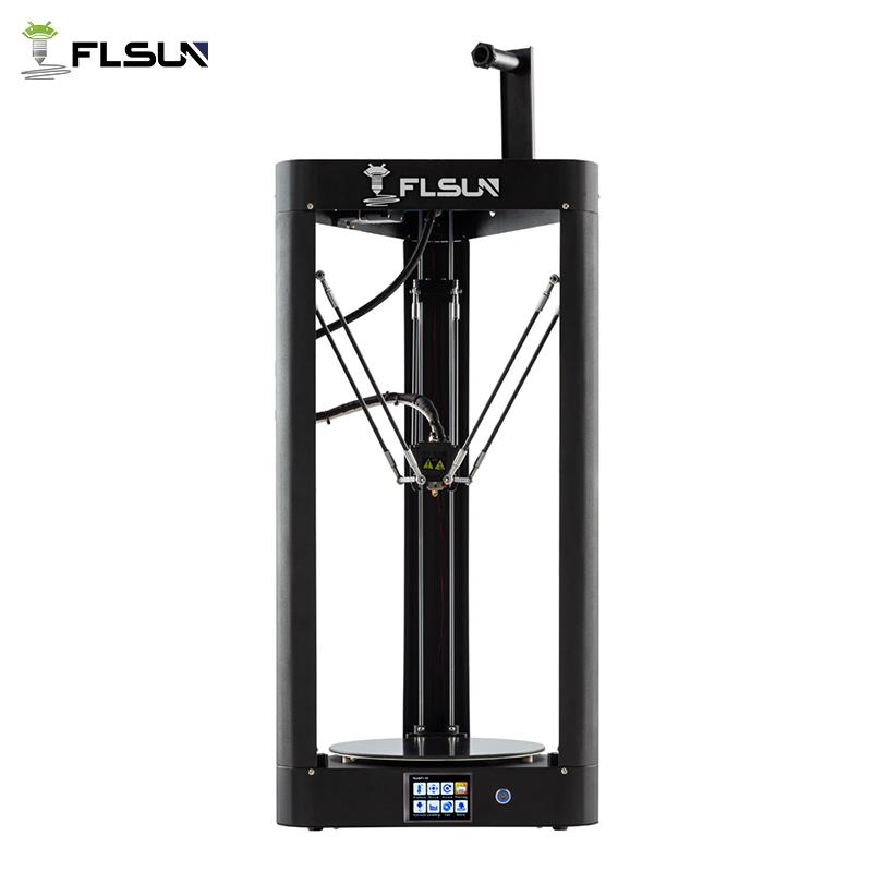 3D Drucker Flsun QQ-S Delta Kossel Auto-Level-Verbesserte Lebenslauf Pre-montage TFT 32bits bord impressora 3d