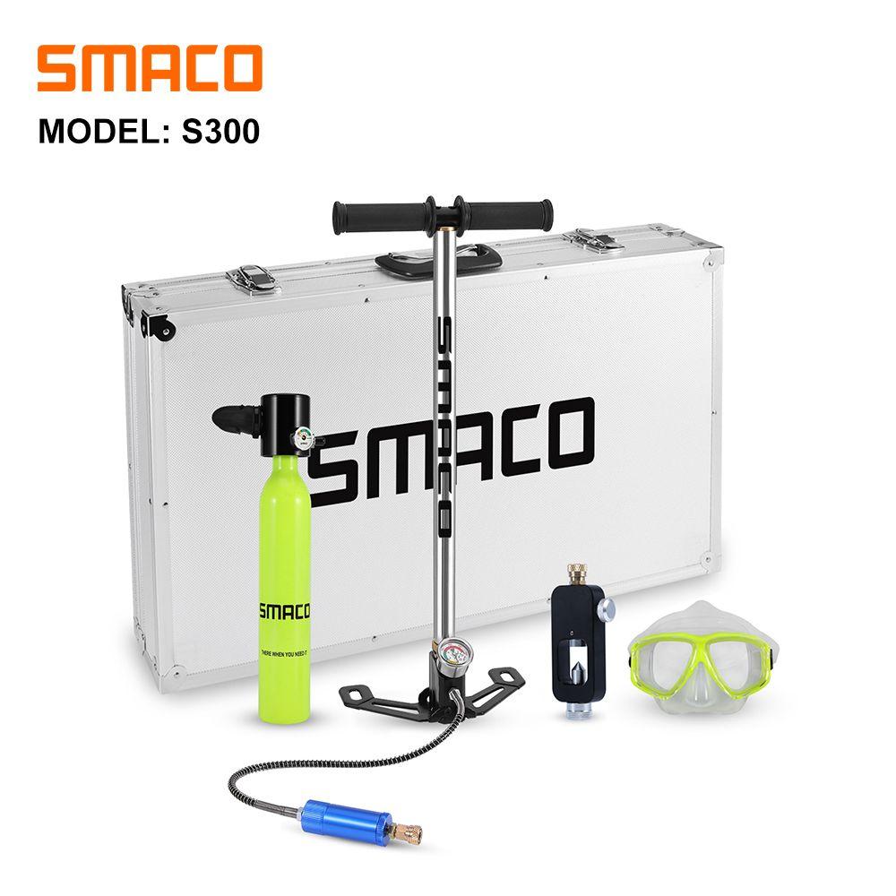 SMACO Tauchen Ausrüstung sauerstoff zylinder set Mini scuba tank unterwasser Scuba Tauchen Tank Ausrüstung Set