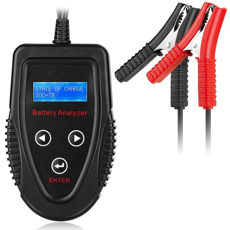 Professionelle 12V 20-1200 CCA 220AH Automotive Last Batterie Tester Digitale Analyzer Schlecht Zelle Test Werkzeug für Auto /boot/Motorrad