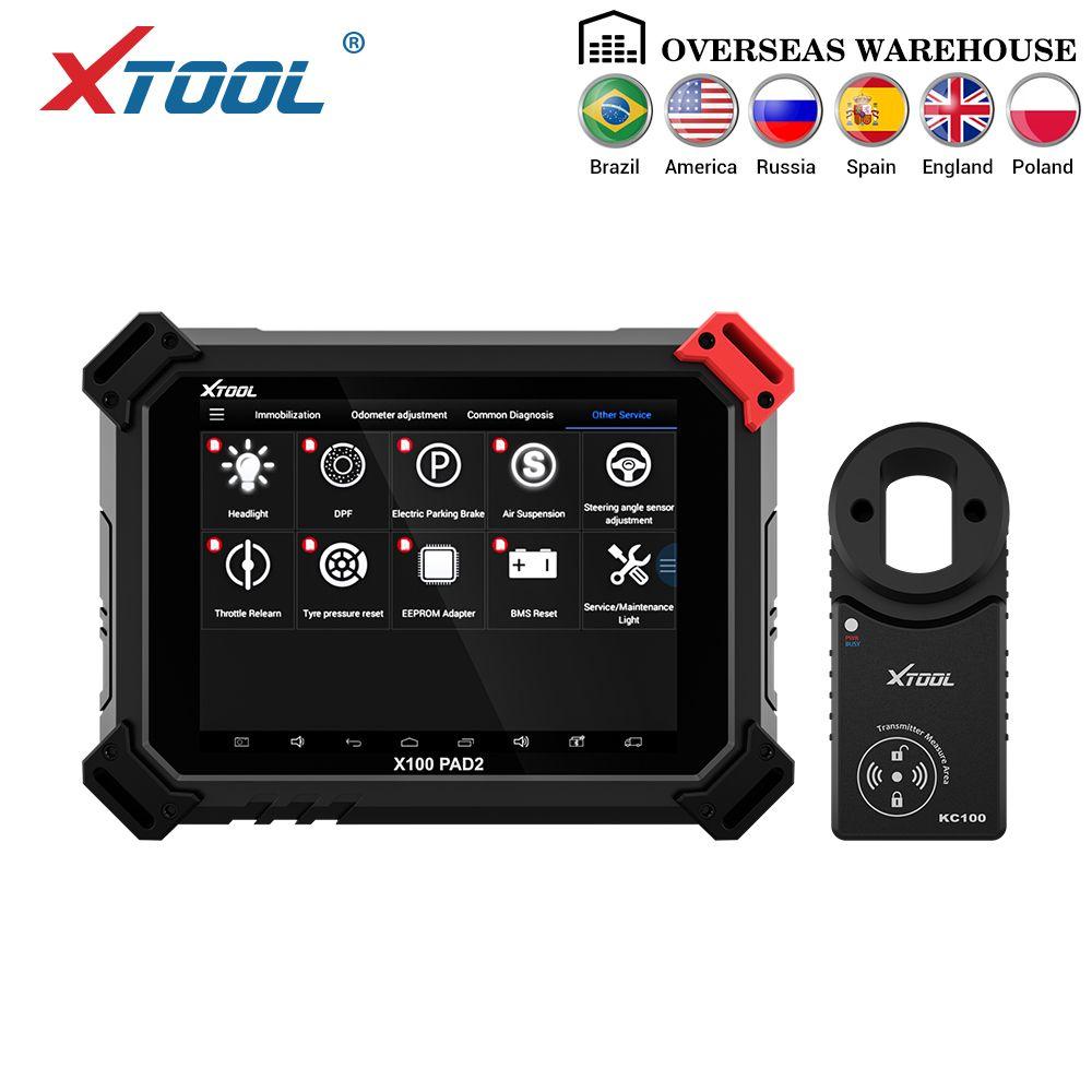 X100 PAD2 Pro Professionelle OBD2 Auto Diagnose Werkzeug mit schlüssel programmierer Für VW 4th 5th Wegfahrsperre und Kilometerzähler einstellung