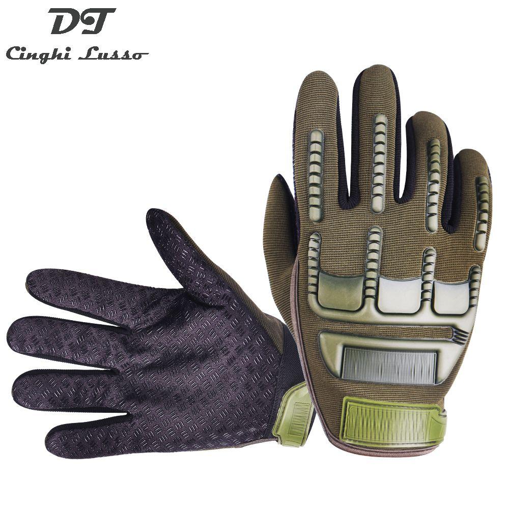CINGHI LUSSO complet doigt Armygreen gant tactique résistant à l'usure militaire gant armée Paintball paires pour hommes femmes