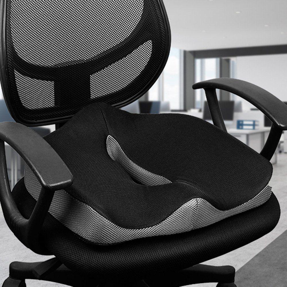 Coccyx orthopédique confortable mémoire mousse chaise siège de voiture coussin pour bas du dos Coccyx médical hémorroïdes coussin Almofadas