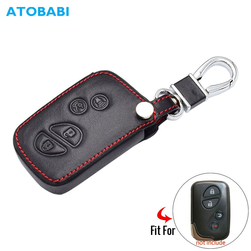 Leder Auto Schlüssel Fall Für Lexus es 300h 250 350 IST GS CT200h RX CT200 ES240 GX400 LX570 RX270 smart Remote Fob Abdeckung Schlüsselbund Tasche