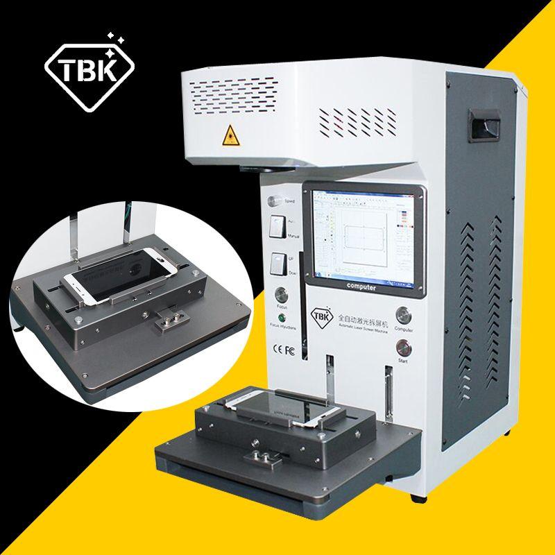 TBK-958A 20W Laser Schneiden Maschine für iPhone 8 11 pro X Zurück Glas Remover LCD Rahmen Reparatur Laser Trennung gravur Maschine