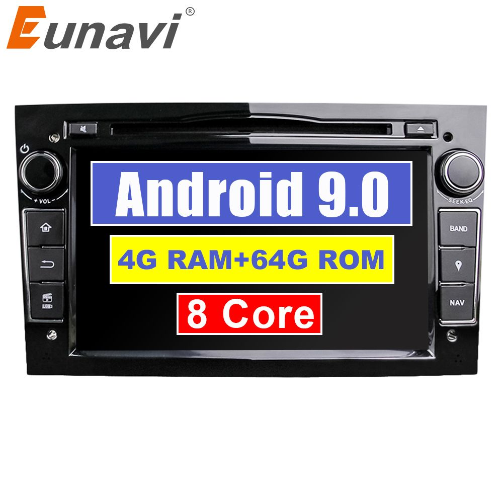 Eunavi 2 Din Android 9 1024*600 HD Auto DVD Player Für Opel Astra Vectra Antara Zafira Corsa Multimedia GPS navi Radio DSP WIFI