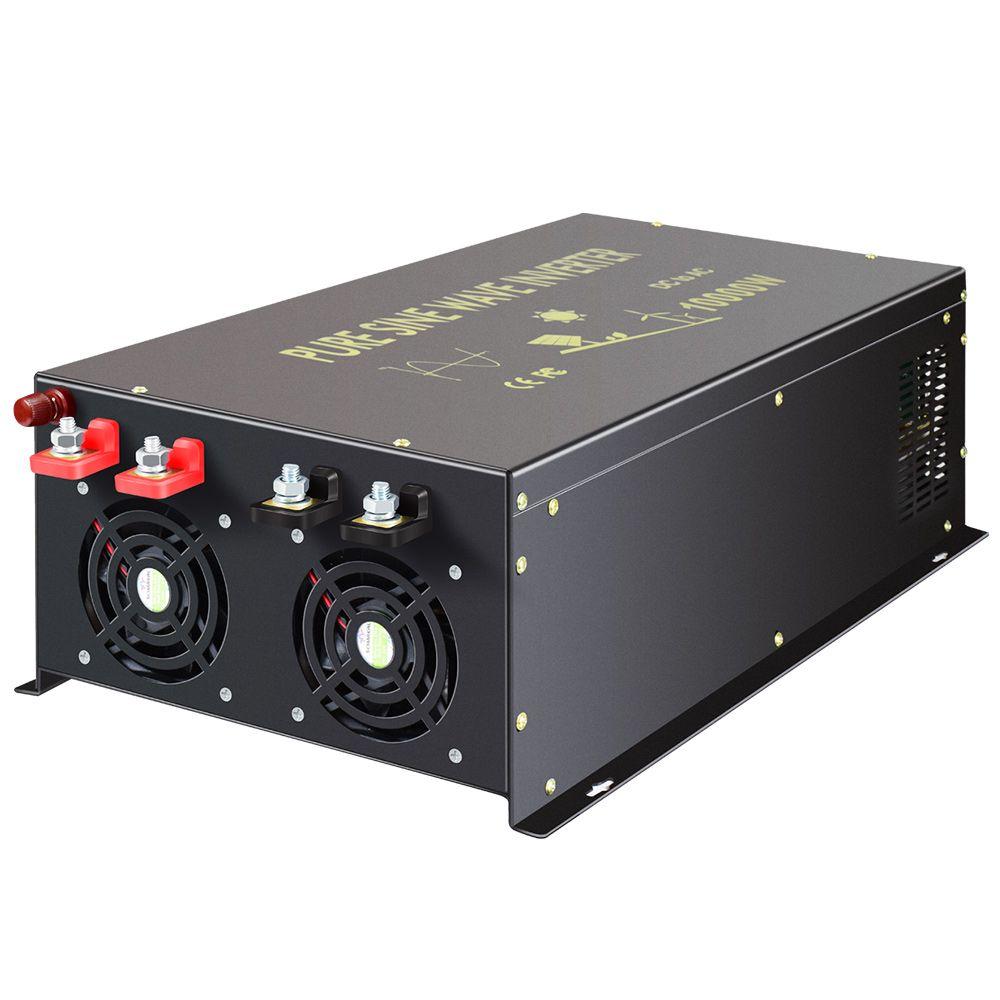 20000W Spitzen Reine Sinus Welle Power Inverter 12V DC zu 220V 10000W AC Solar Generator Inverter transformator 12 V/24 V/48 V zu 120 V/240 V