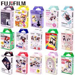 Fujifilm Instax Mini Film Optional Photo Frame 10-100 sheet Photo Paper For Instax Mini 9 Mini 8 Instant Mini 70 90 Film Camera