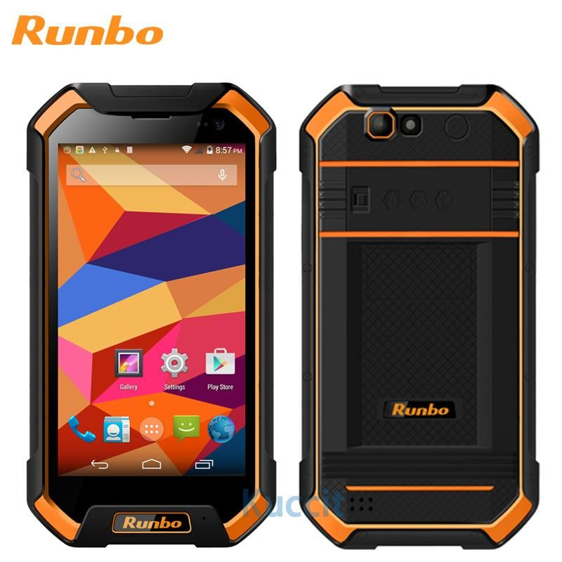 Original Runbo F1 Plus IP67 Wasserdichte Handy 6GB 64GB Android 7.0 Robuste IP68 Handy NFC Smartphone 5,5 Zoll 4G Telefon