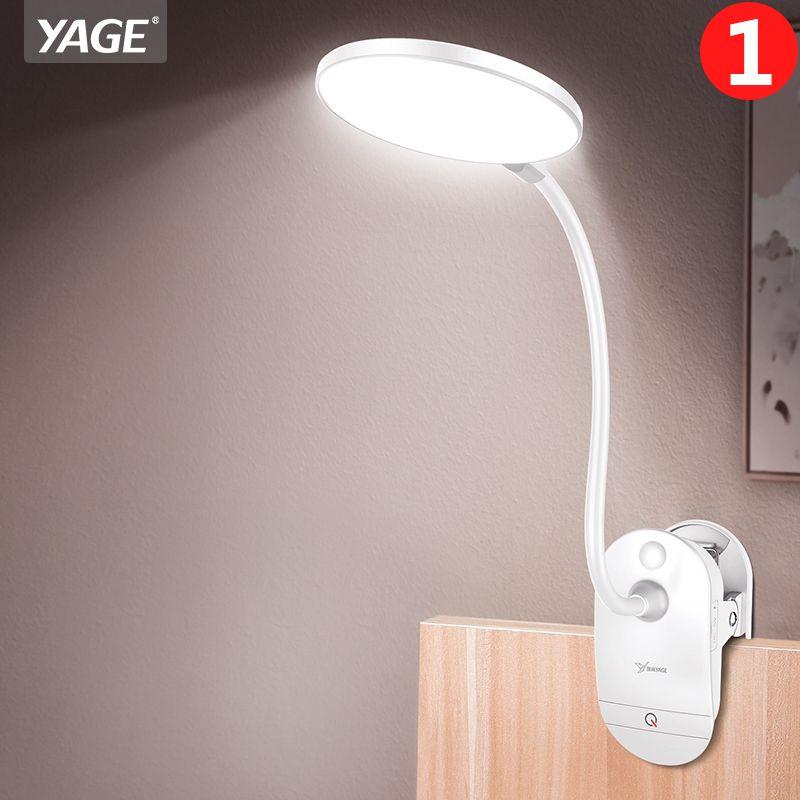 18650 Rechargeable Led lampe de Table Clip loupe lampe de bureau col de cygne tactile étude lampes bureau usb Table lumière 3 Modes lecture