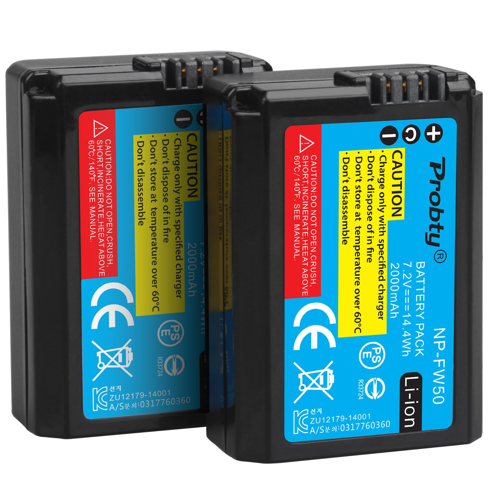 2 stücke 2000mAh NP-FW50 NPFW50 Batterie für Sony NEX-7 NEX-5N NEX-F3 SLT-A37 A7 NEX-5R NEX-6 NEX-3 NEX-3A Alpha 7R II Kamera