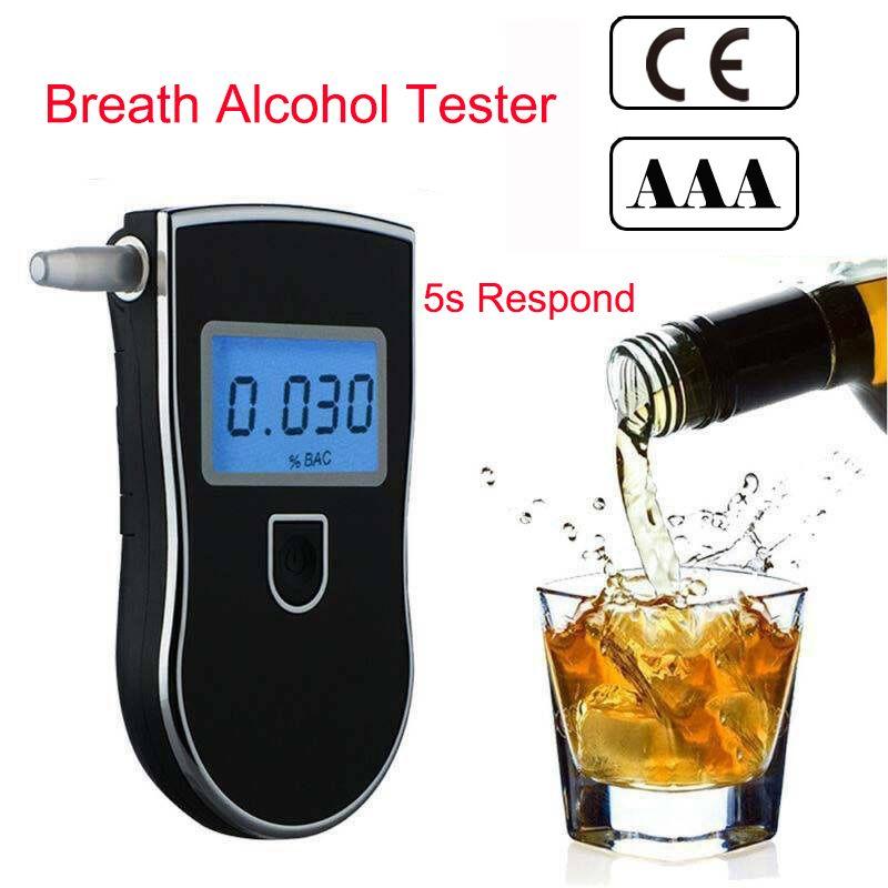 Testeur d'alcoolémie AT-818 détecteur d'alcootest professionnel Police numérique At818 professionnel At 818 2019 offre spéciale détecteur