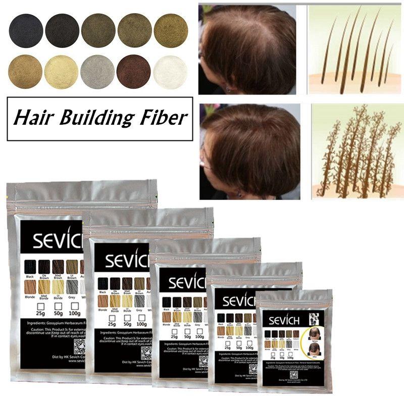 Refill haar faser 500g Beste Salon Pulver Keratin Faser Haar Styling Spray Gebäude Pflege Haarausfall produkt 10 farben