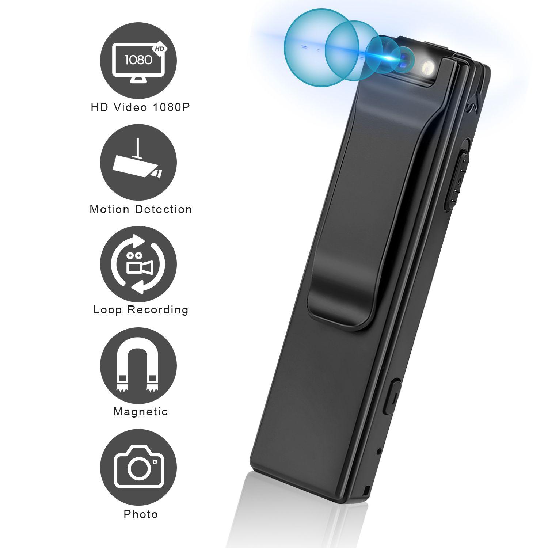 Vandlion A3 Mini caméra numérique HD lampe de poche Micro caméra magnétique corps caméra détection de mouvement instantané boucle enregistrement caméscope