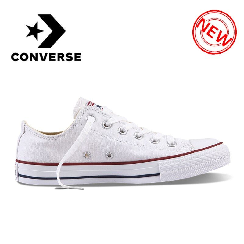 Original Converse ALL STAR Classic Breathable Canvas Low-Top Skateboarding Shoes Unisex Authentic New Version Sneakers for Young