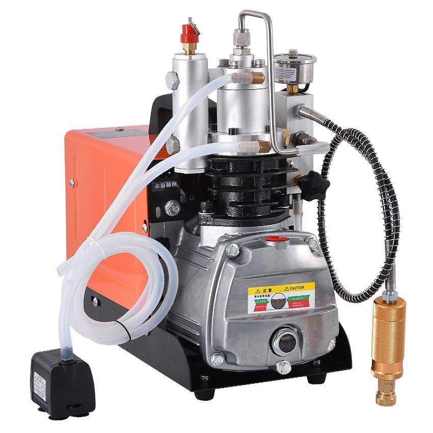 Neue Ankunft Automatische Abschaltung Typ Hochdruck Drücker 30MPa 1.6KW Mini Hochdruck Elektrische Luftpumpe Kompressor 220V Heißer