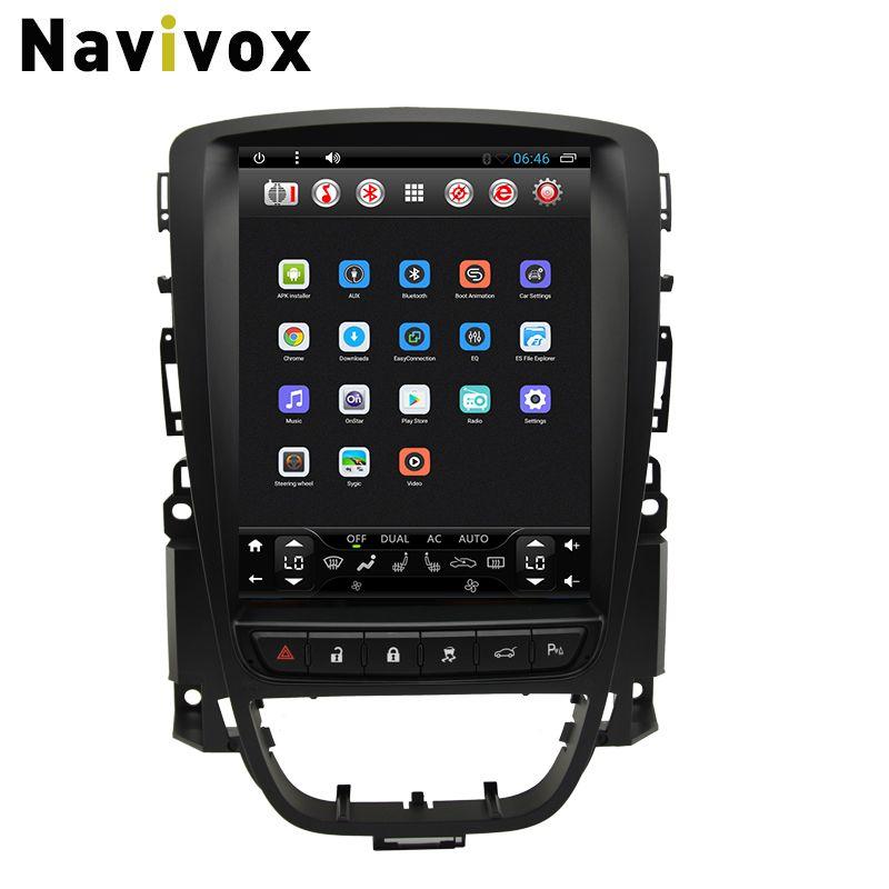 Navivox Android 6.0 Vertikale screen Car Multimedia Player Für Opel Vauxhall Holden ASTRA J/Buick Excelle 2010-2013 Auto DVD GPS