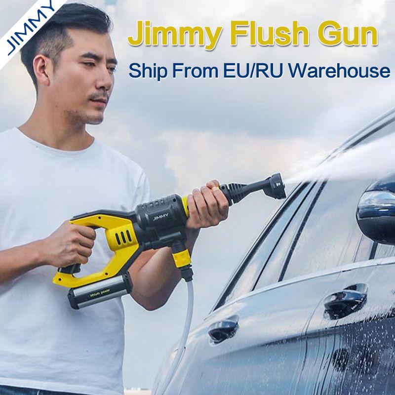 JIMMY JW31 Handheld Wireless Autos Waschen Pistole Hochdruck Auto Washer Schnee Schaum Wasser Power Reiniger Multifunktionale Düse