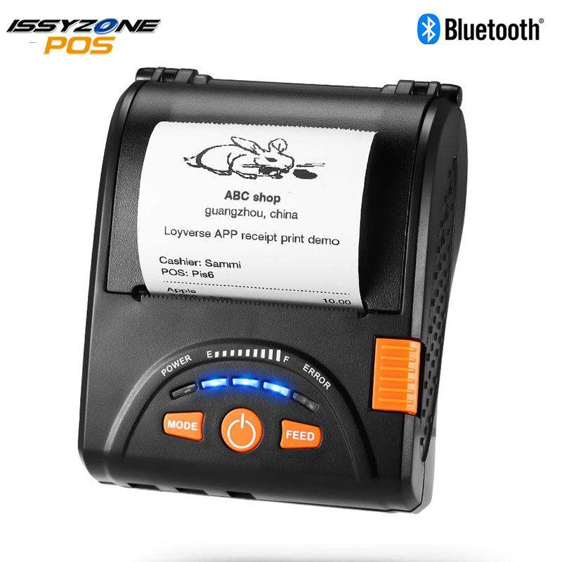 Imprimante thermique Bluetooth IssyzonePOS Mini 58mm Portable reçu imprimantes USB portables pour système Android IOS IMP001