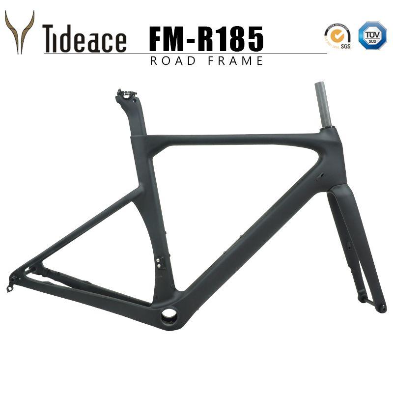 Disc bremse rennrad carbon rahmen 2019 achse 142*12mm Di2 UD carbon faser straße fahrrad frameset scheiben bremse