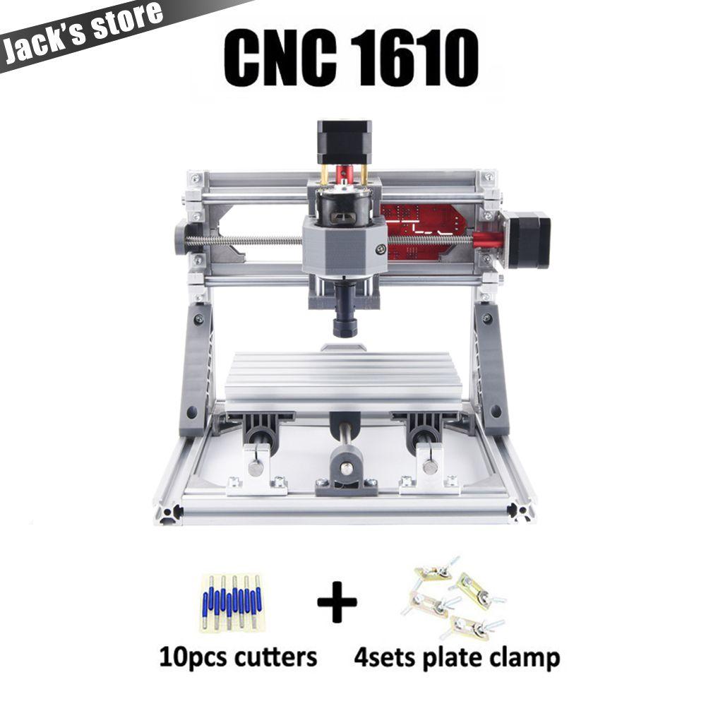 CNC 1610 avec ER11, machine de gravure de CNC bricolage, mini fraiseuse de carte Pcb, Machine de sculpture sur bois, routeur de CNC, CNC 1610, meilleurs jouets avancés