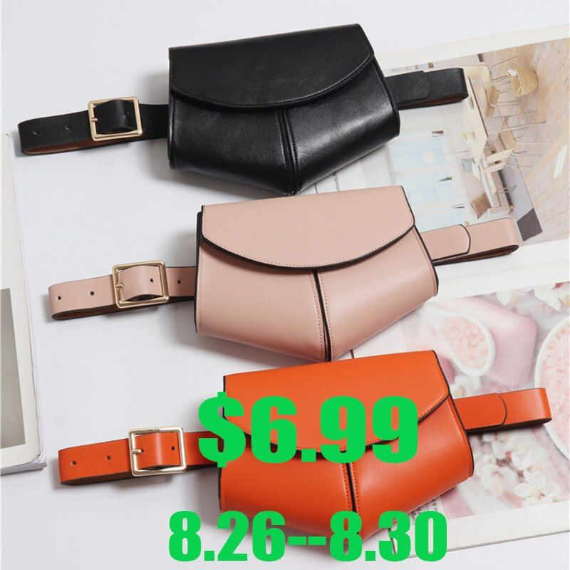 Femmes Serpentine Fanny Pack dames nouvelle mode taille ceinture sac Mini Disco taille sac en cuir petits sacs à bandoulière 040301