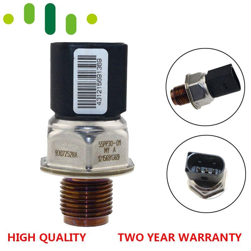 Echtes Diesel Kraftstoff Schiene Druck Sensor CZUJNIK 9307Z528A 55PP30-01 Für Hyundai I30 1,4 Chevrolet Cruze J300 2,0 CDI 1215691369