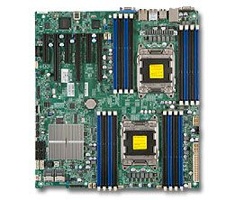 OEM X9DR3-F IPMI SAS C602 chip 2011 pin server motherboard E5-2600 verwendet 90% neue