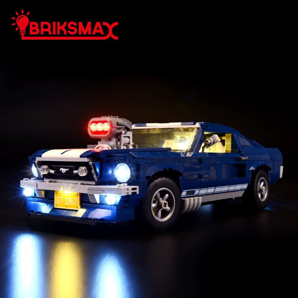 BriksMax Led Lighting Kit For 10265 Creator Series Ford Mustang Light Set (NOT Include The Model)