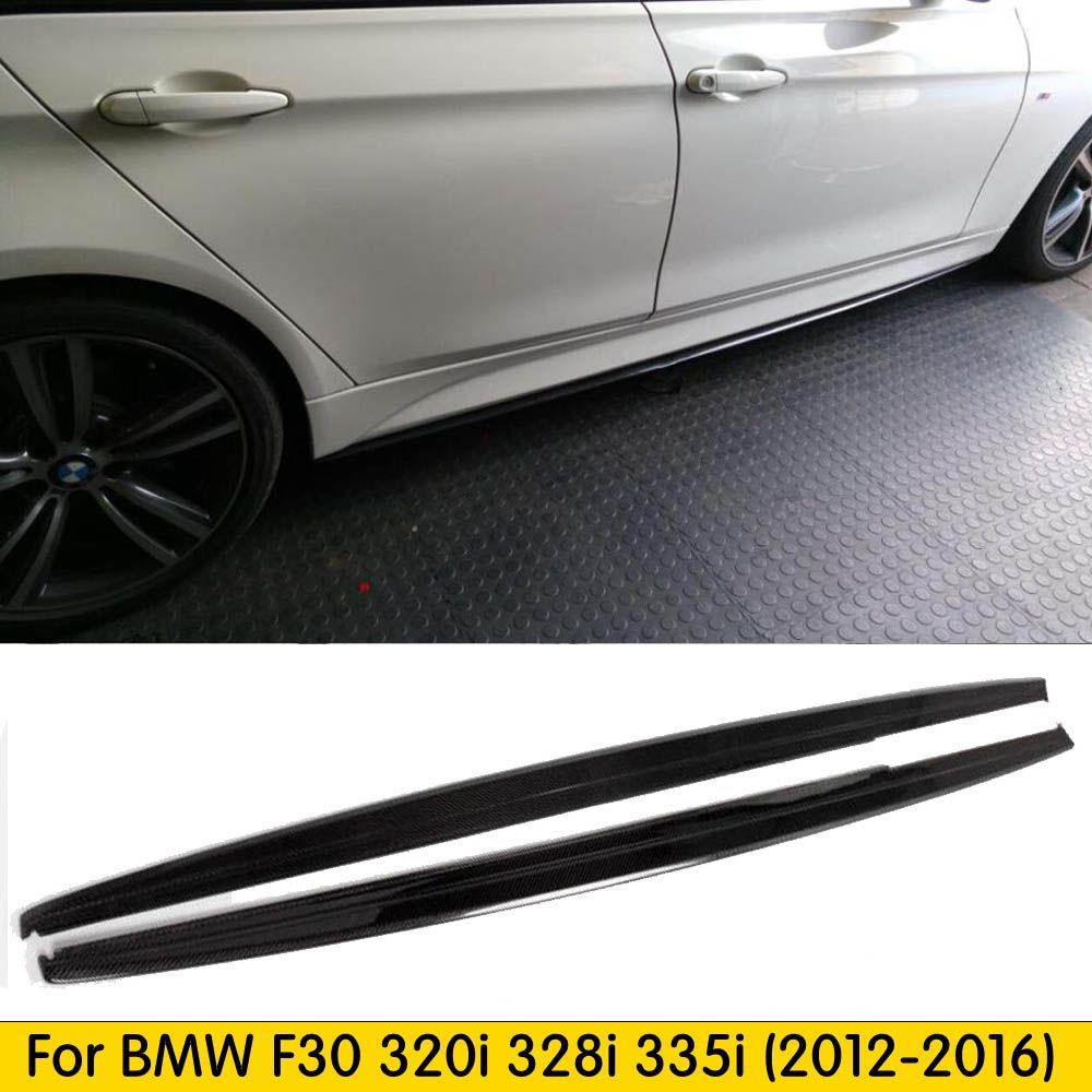 Für F30 Carbon Side Rock Extensions für BMW F30 3 Serie Limousine 320i 328i 335i 320d 328d 2012- 2016