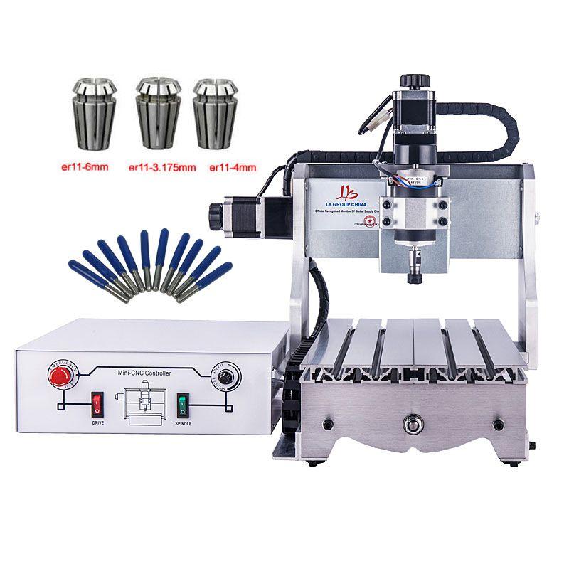 PCB Fräsmaschine CNC 3020 cnc Holz Carving rotuer Mini Stecher mach3 control