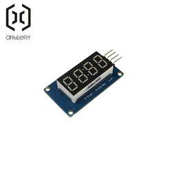 TM1637 LED Display Module 7 Segment 4 Bits 0.36Inch Clock RED Anode Digital Tube Four Serial Driver Board Pack