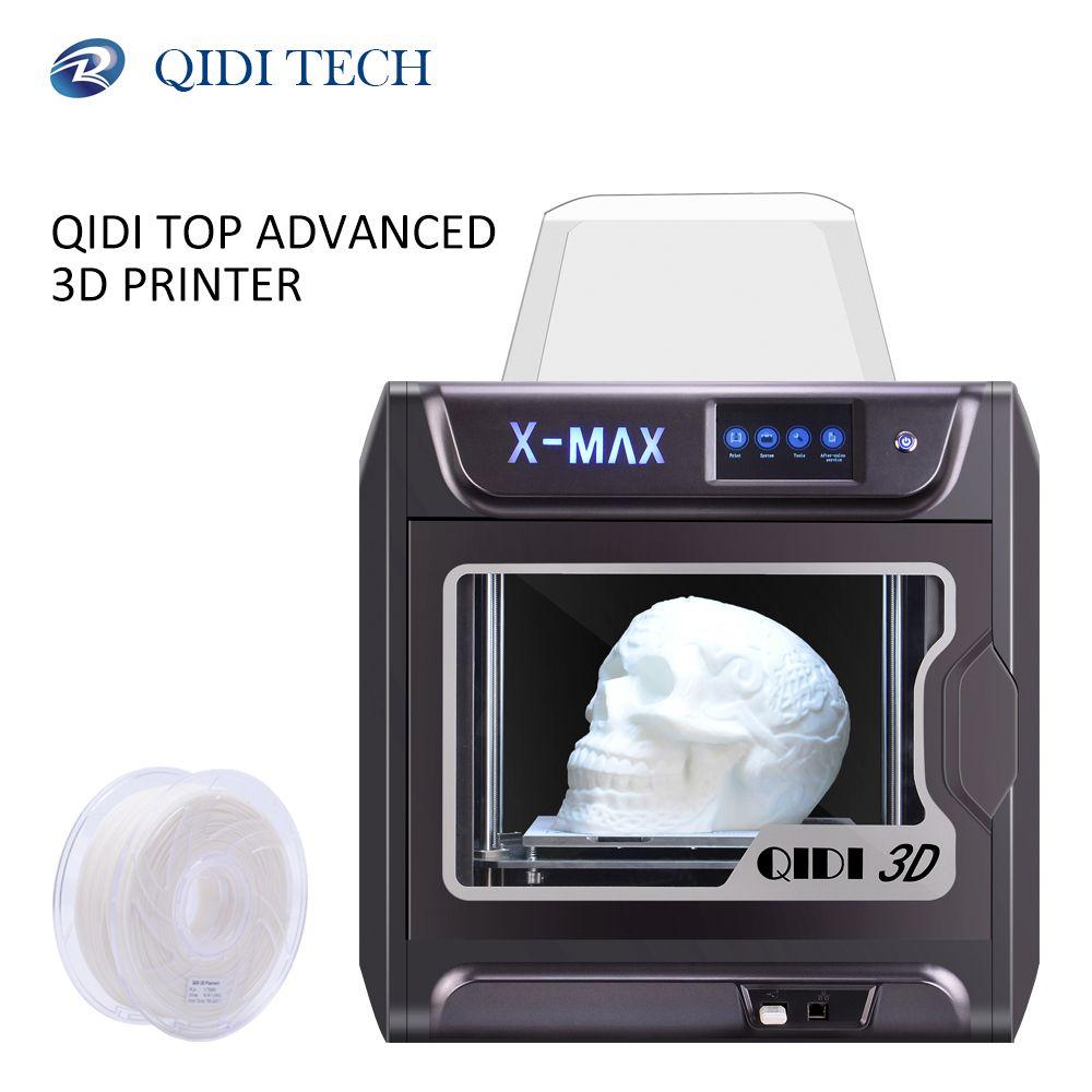 QIDI TECH 3D Drucker X-MAX Große Größe Industrie WiFi Hohe Präzision Druck mit PLA TPU PC PETG Nylon 300 * 250*300mm