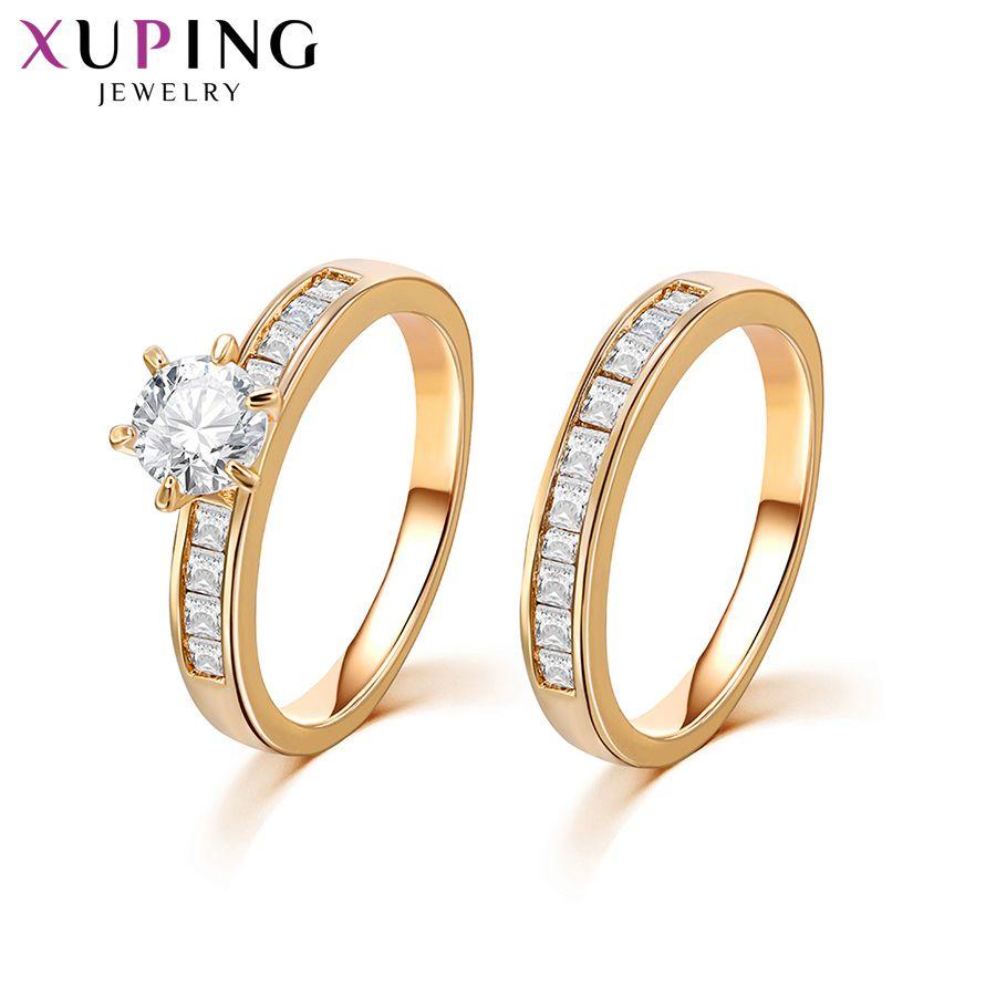 11.11 Xuping mode anneau de haute qualité classique charmant amour 'bague pour hommes femmes bijoux saint valentin cadeaux S212-12888