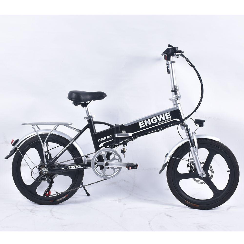 Engwe EGW 320M Elektrische Fahrrad 20 ''Aluminium Legierung 48 V/8Ah 250W 25 km/h 6 Geschwindigkeit bürstenlosen Elektrische Fahrrad mit Shenlong Display