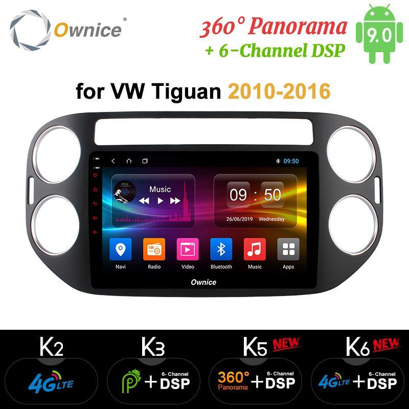 Ownice K1 K2 K3 Auto dvd player 2G RAM 32G ROM gps navi für VW tiguan 2010 2011 2012 2013 2014 2015 2016 Android 8.1 8 Octa core