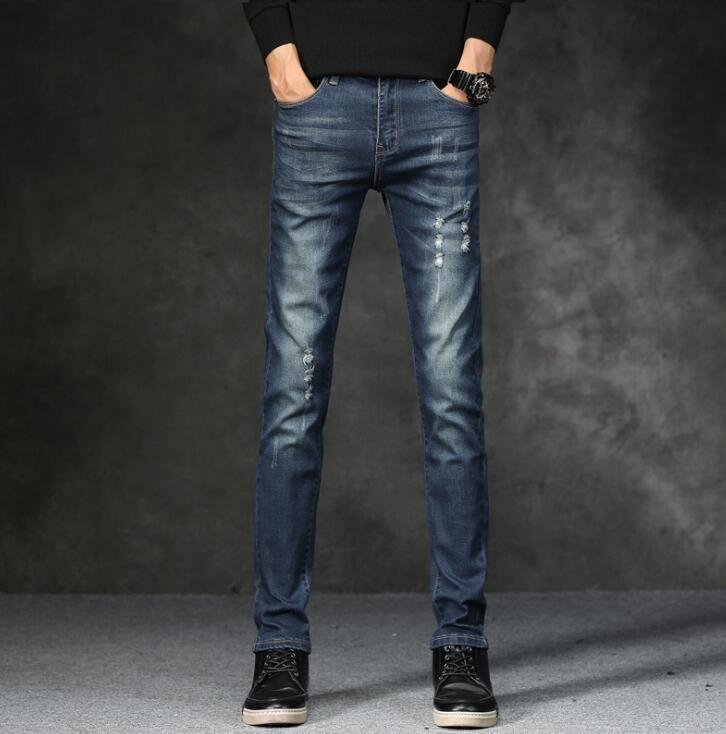 2019 Top qualité remise hommes Jeans sur les offres spéciales pas cher hommes mode Long pantalon