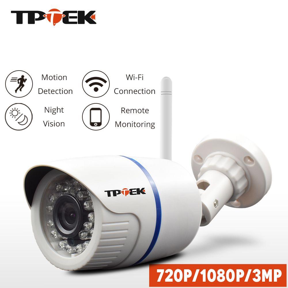 Caméra IP HD 1080P caméra de sécurité à domicile WiFi extérieure 720P 3MP Surveillance sans fil wi-fi balle étanche caméra IP Onvif Camara