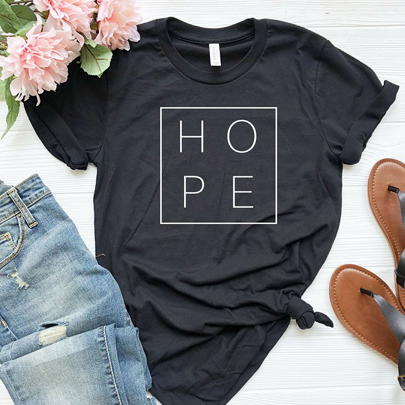 New Summer Women T Shirt Faith Hope Love Christian T-shirt Funny Christianity God Tee Gift Woman Short Sleeve Cotton Tops Drop