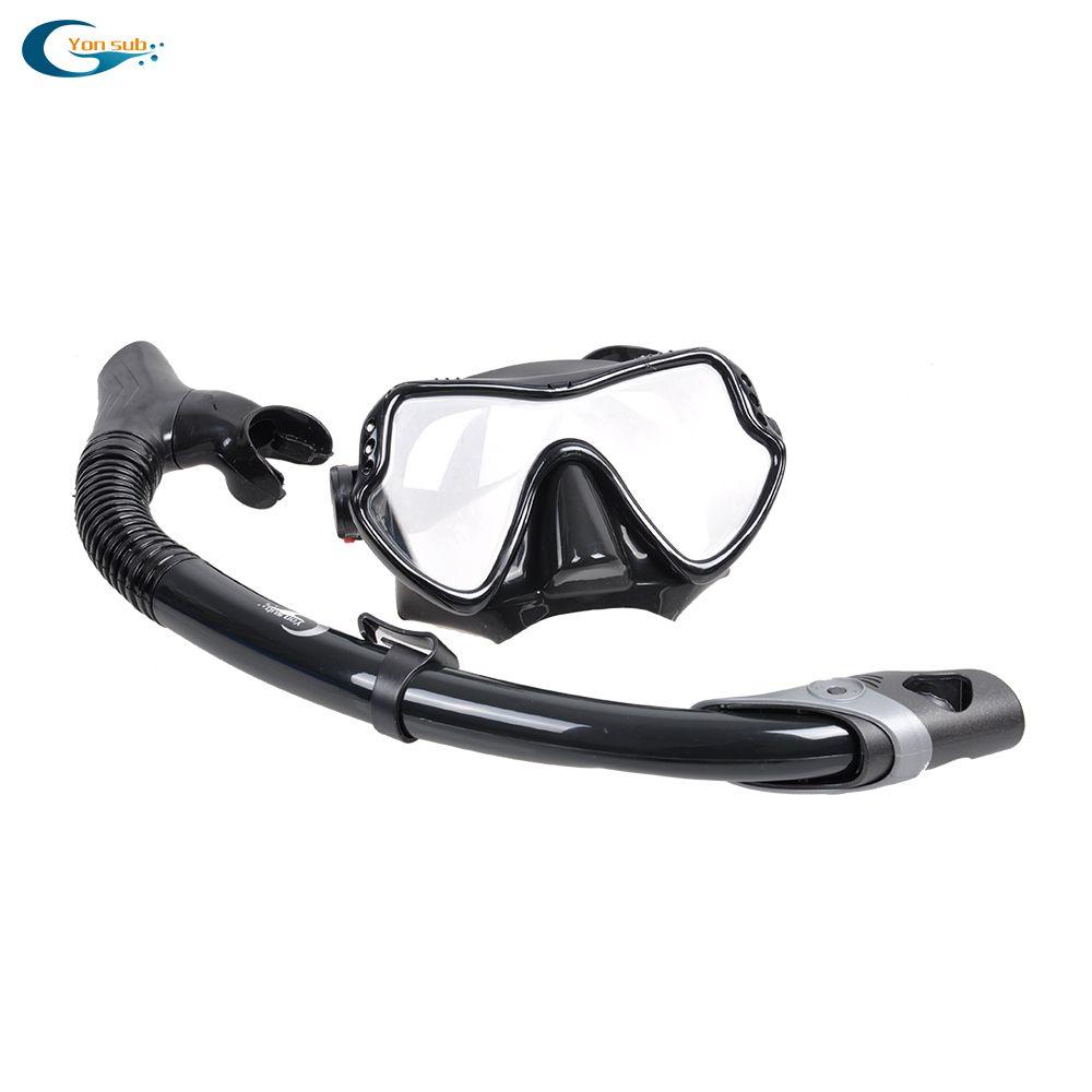 Masque de plongée en Silicone masque de plongée sous-marine lunettes de natation Tube de tuba ensemble de plongée hommes femmes équipement de plongée livraison gratuite