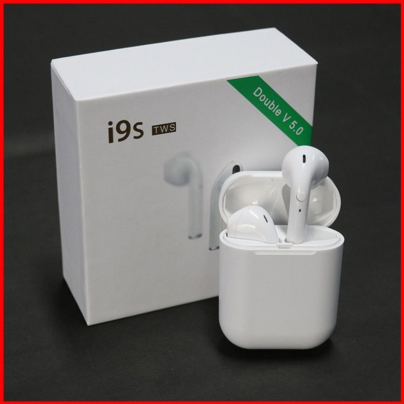 I9S TWS Mini Wireless Bluetooth Earphone 5.0 Bluetooth Earphones Stereo Sports Earbuds for IPhone For Android Phones
