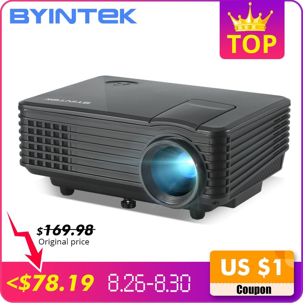BYINTEK SKY Y2 Home cinéma Mini LED Portable vidéo HD LCD projecteur projecteur projecteur avec prise en charge USB HD 1080P