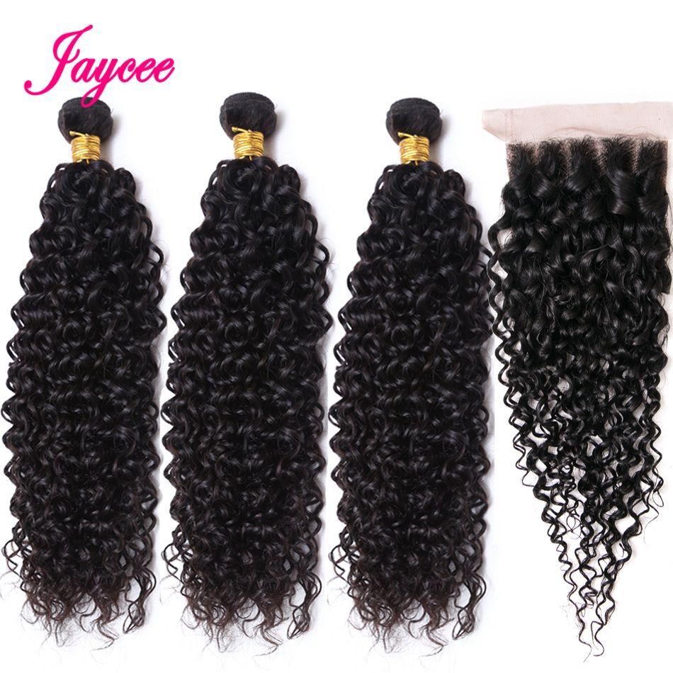 Brazillian haar afro verworrene lockige haar mit closure tissage cheveux humain avec verschluss solde Nonremy haar 3 bundles mit verschluss