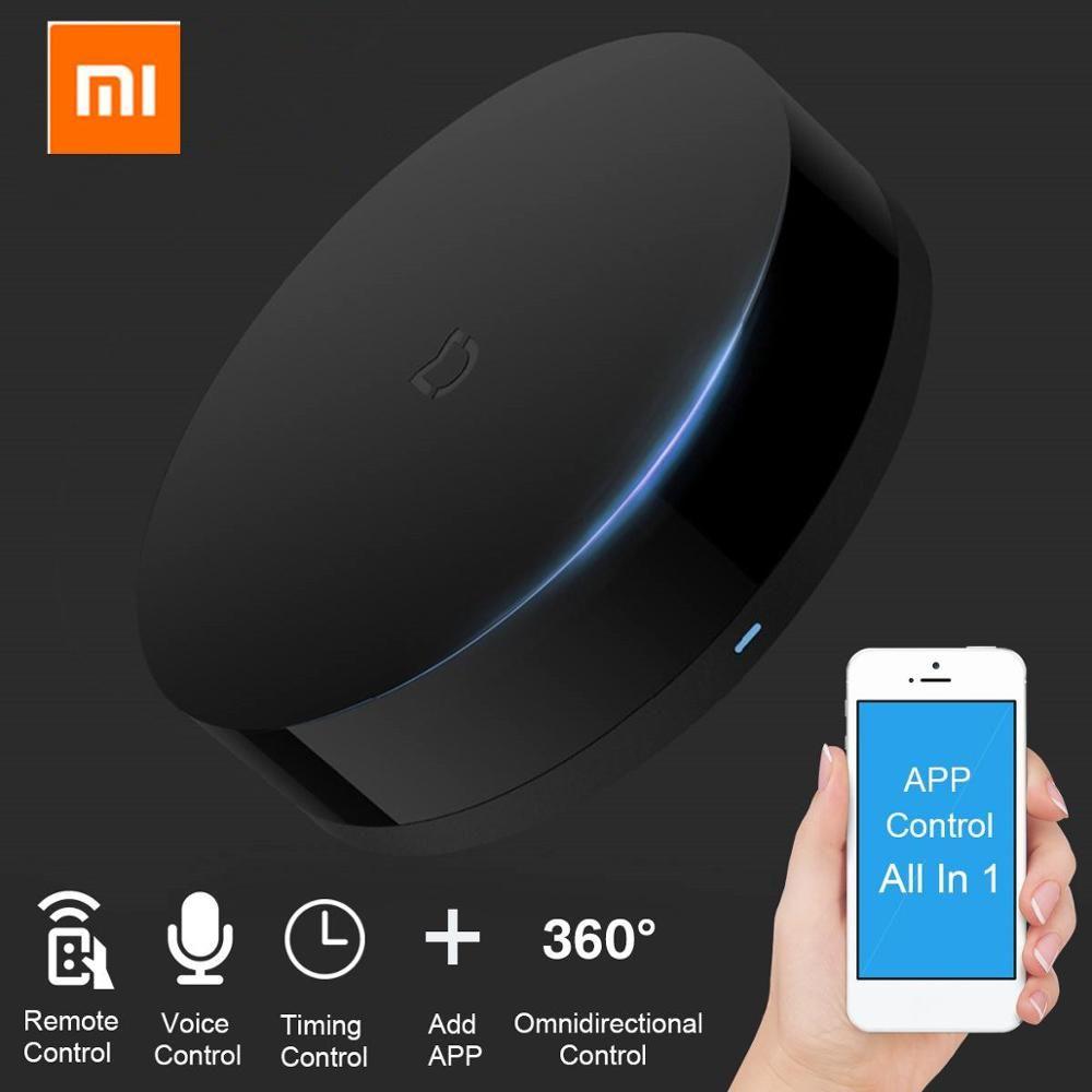 Original Xiao mi mi universel Intelligent télécommande intelligente WIFI + IR commutateur 360 degrés Intelligent domotique mi capteur Intelligent