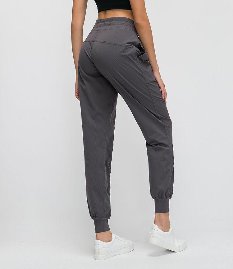 Pantalons de sport NWT pantalons de survêtement de Gym pantalons coupés à jambe large pantalons de Yoga contrôle du ventre entraînement course à pied pantalons 4 voies extensibles