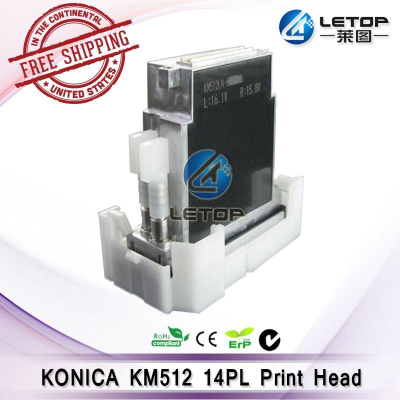 Original 1 stücke konica minolta KM512MN 14pl konica druckkopf konica 512 14pl für lösungsmittel drucker im freien