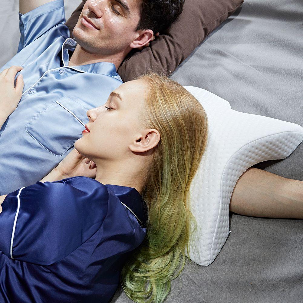 Couple Pillow Memory Foam Bedding Pillow Anti-pressure Hand Pillow Ice Silk Slow Rebound Multifunction Pillow Dropshipping