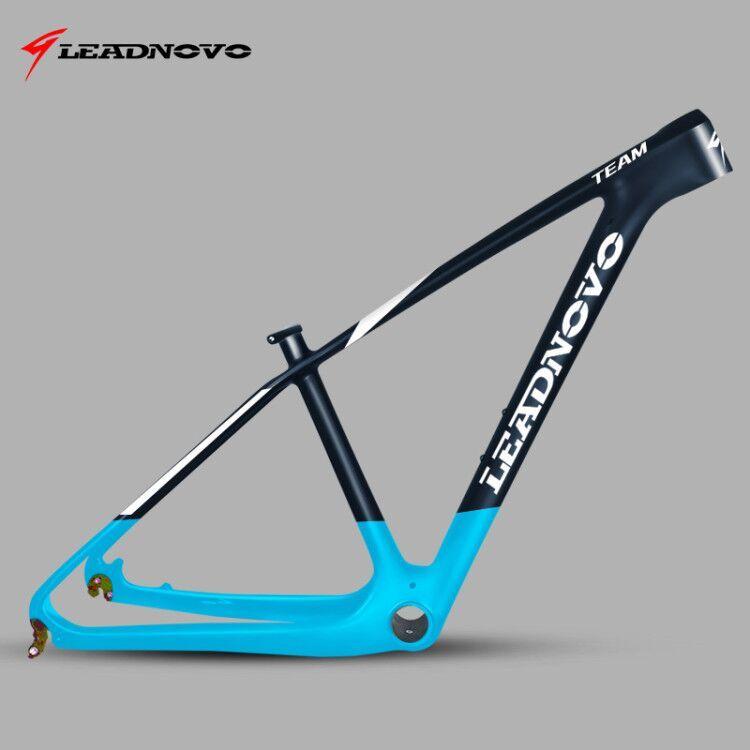 Cadre de vélo de montagne LEADNOVO 27.5/29er pf30 cadre de vélo de montagne cadre de VTT cadres en carbone chinois 135/142mm