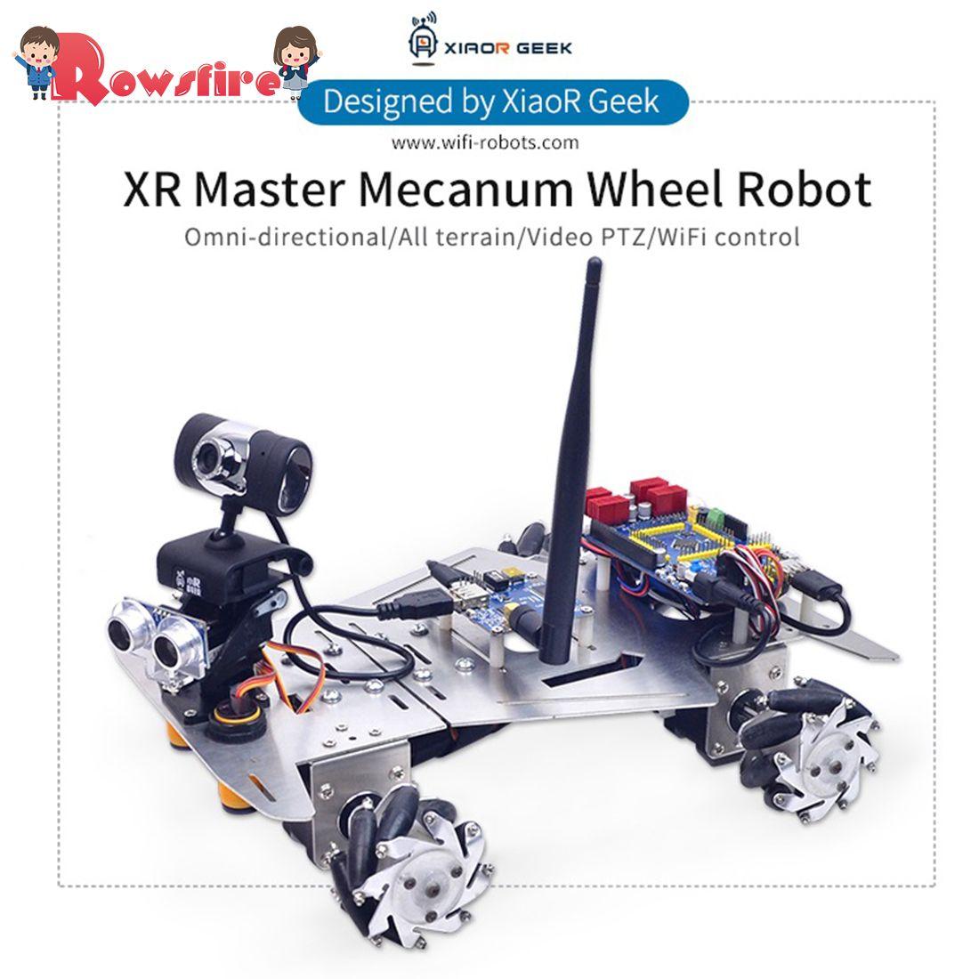 XR Master Omni-Directional Mecanum Rad Roboter Programmierbare Spielzeug Spiele Für Kinder Erwachsene Kreative Geschenk-WIFI Version